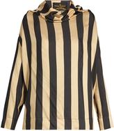 Vivienne Westwood Long-sleeved silk-crepe blouse