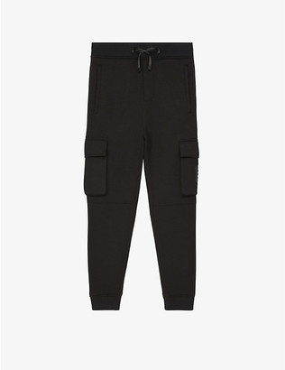 The Kooples Sport Tapered stretch-jersey jogging bottoms