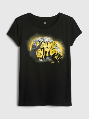 Gap The Collective Kid Girl Stand United T-Shirt