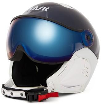 KASK Class Sport Goggle-visor Ski Helmet - Navy