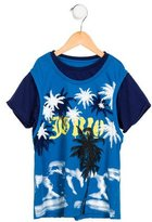 John Galliano Boys' Logo Screen Print T-Shirt