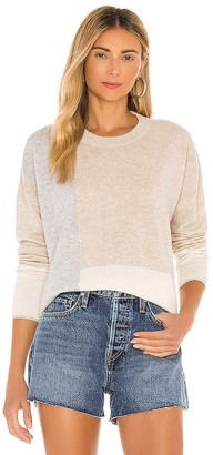 Splendid Cashmere Colorblock Sweater