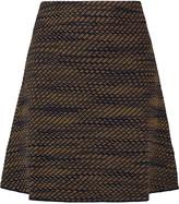 M Missoni Metallic crochet-knit mini skirt