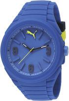Puma Unisex Gummy Blue Watch PU103592003