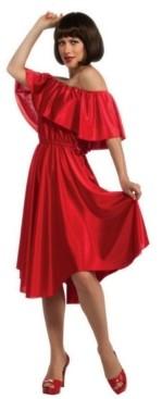 BuySeasons Women's Saturday Night Fever Red Dress