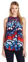 Desigual Women's Tinta Woven Sleeveless Shirt