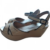 Salvatore Ferragamo Pink Patent leather Sandals