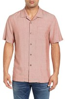 Tommy Bahama Men's 'Ocean' Oxford Silk Camp Shirt