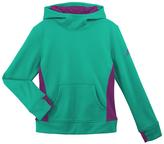 adidas Shock Mint & Shock Purple Fleece Hoodie - Girls