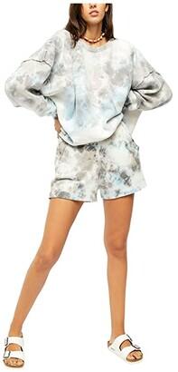 Free People Kelly Washed Set (Blue Combo) Women's Pajama Sets