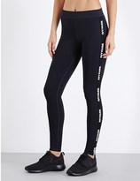 Ivy Park Logo-print skinny jersey leggings