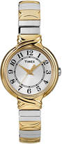 Timex Womens Two-Tone Round Expansion Watch T2N979