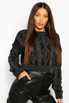 boohoo Tall Knitted Detailed Jumper