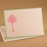 The Well Appointed House Hot Pink Palm Tree Gift Enclosure Cards - IN STOCK IN OUR GREENWICH STORE FOR QUICK SHIPPING