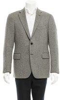 Piombo Herringbone Wool Blazer