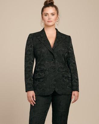 Dolce & Gabbana Floral Jacquard Turlington Jacket