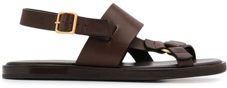 Ermenegildo Zegna Open Toe Sandals