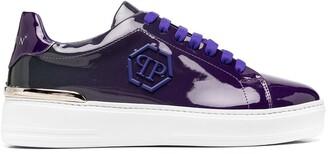 Philipp Plein Hexagon-logo low-top sneakers