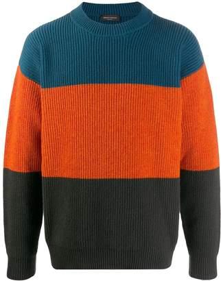 Roberto Collina colour block jumper