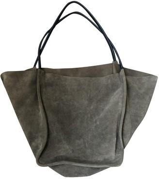 Proenza Schouler Beige Suede Handbags