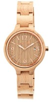 Earth Women's Nodal Watch with Luminous hands and Date Display-Khaki/Tan