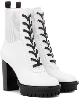 Gianvito Rossi Martis 70 leather ankle boots