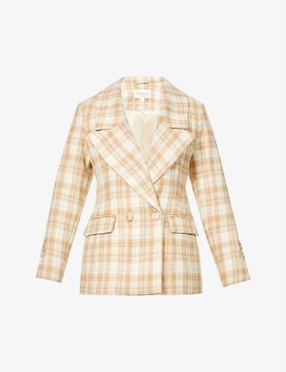 Viktoria & Woods Wentworth double-breasted wool-blend blazer