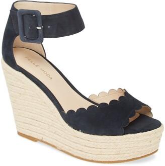 Pelle Moda Rica Platform Wedge Sandal