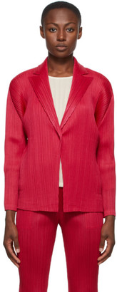 Pleats Please Issey Miyake Pink Monthly Colors September Blazer