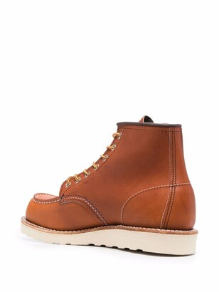 Red Wing Shoes Classic Moc leather boots