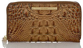Brahmin Toasted Almond Collection Suri Croco-Embossed Wallet