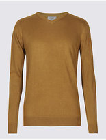 M&S Collection V-Neck Jumper