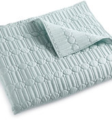 Hotel Collection Modern Interlace King Coverlet