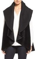 Kenneth Cole New York Women's Drape Faux Fur Vest