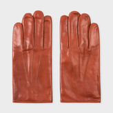 Paul Smith Men's Tan Leather Gloves
