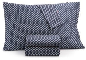 Tommy Hilfiger T180 Daisy Halfdrop Twin Sheet Set Bedding