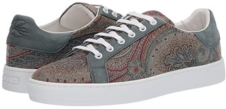 Etro Paisley Tennis Sneaker (Blue) Men's Shoes