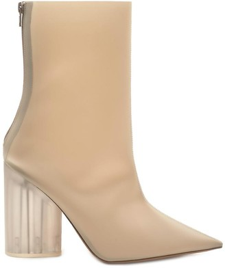 Yeezy Semi Opaque Ankle Boots