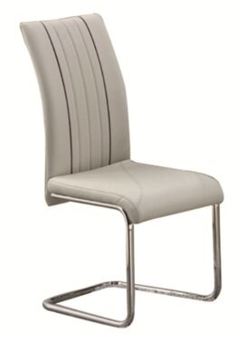Latitude Run Bedoya Upholstered Dining Chair Upholstery Color: Taupe