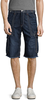 True Religion Cargo Cut-Off Big T Shorts