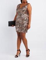 Charlotte Russe Plus Size Sequin Bodycon Dress