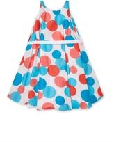 Halabaloo Dot Print Circle Dress