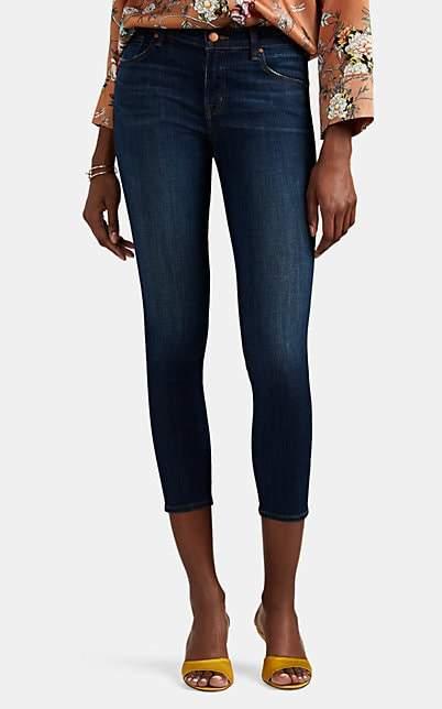 J Brand Women's Mid-Rise Crop Skinny Jeans - Blue