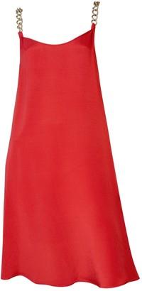 STEPHAN JANSON Red Silk Dress for Women