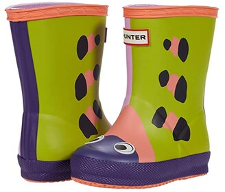 Hunter First Beetle Character Boot (Toddler/Little Kid) (Wax Flower) Kid's Shoes