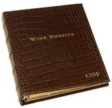 Gump's Graphic Image Personalized Wine Dossier