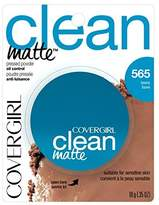 Cover Girl CLEAN OIL CONTROL PRESSED POWDER TAWNY by