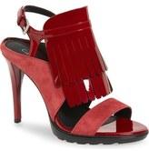 Calvin Klein 'Marin' Kiltie Slingback Sandal (Women)