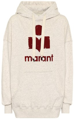 Etoile Isabel Marant Mansel oversized cotton-blend hoodie