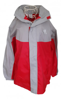 adidas Red Polyester Jackets & Coats